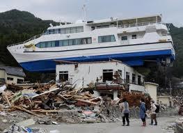tsunami bateau